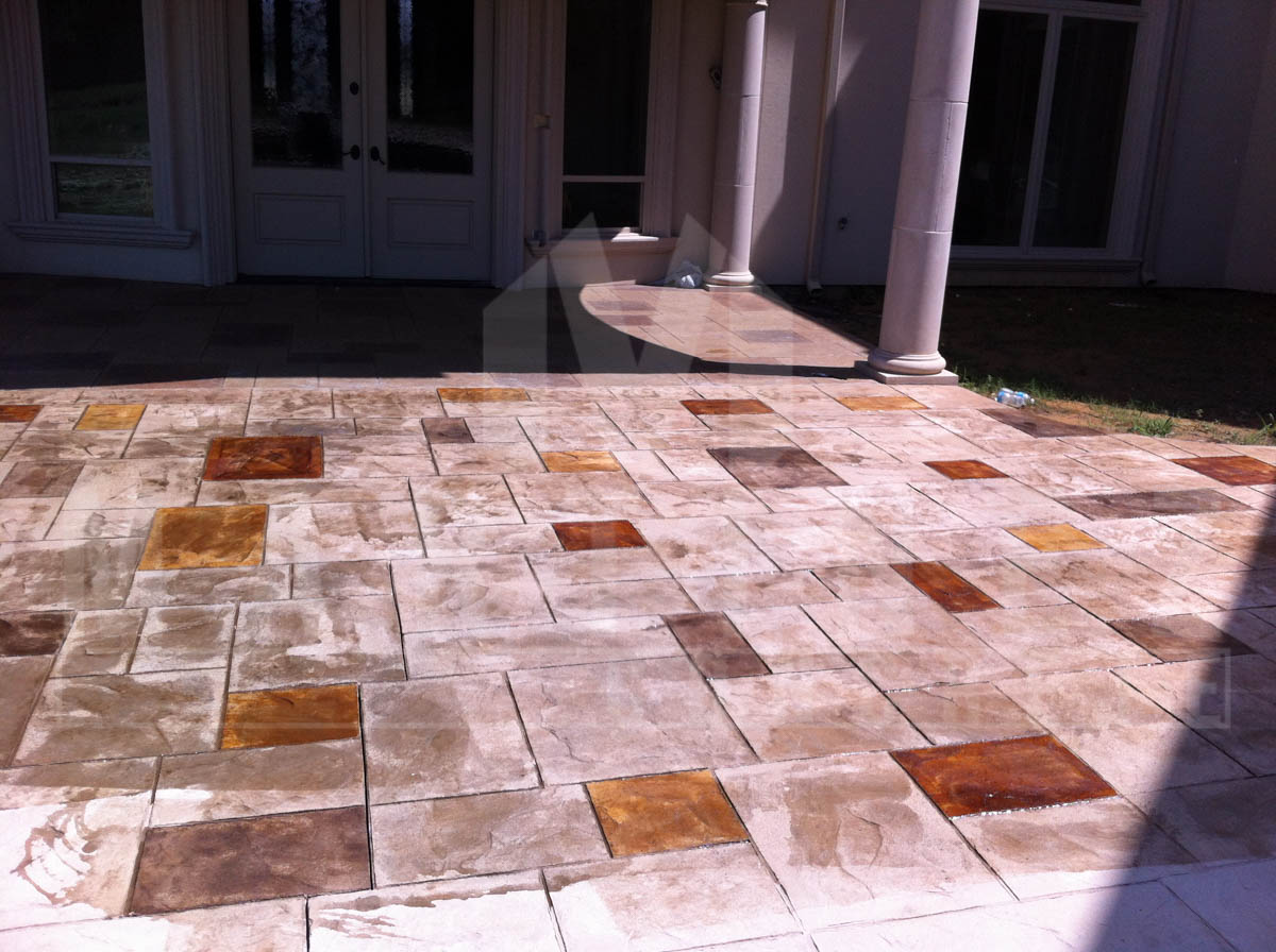Stamped, Colored and Other Decorative Concrete